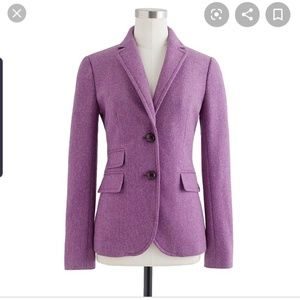J. Crew Hacking Jacket in lavender, size 8